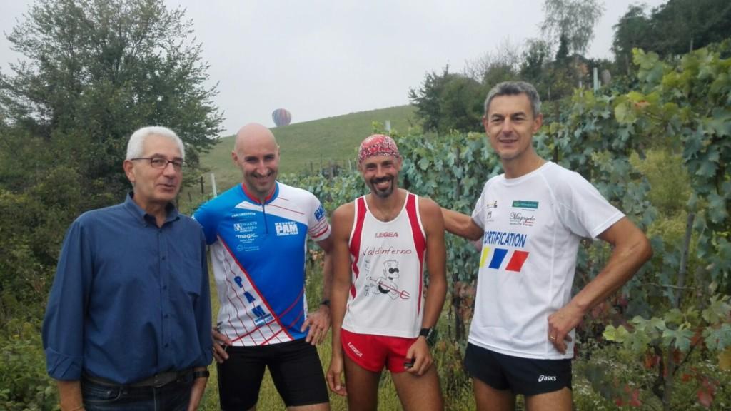 Guido Tomatis: responsabile ed organizzatore sentiero Landandè