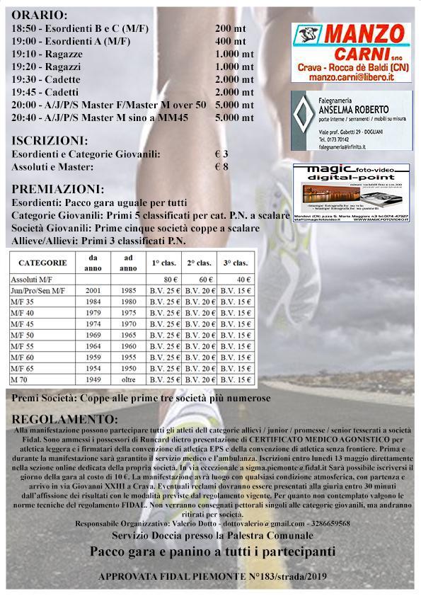 6° edizione della 5 Km di Crava_1